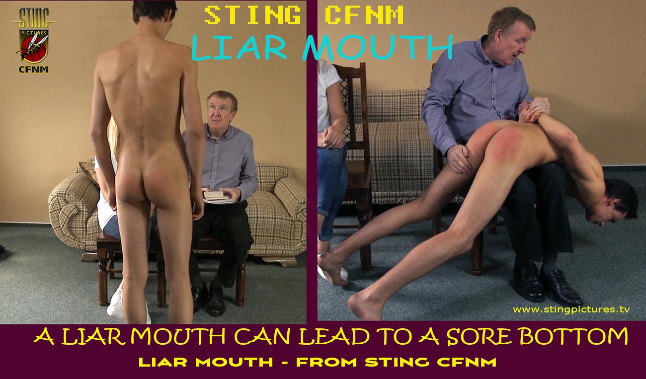 Cfnm spanking