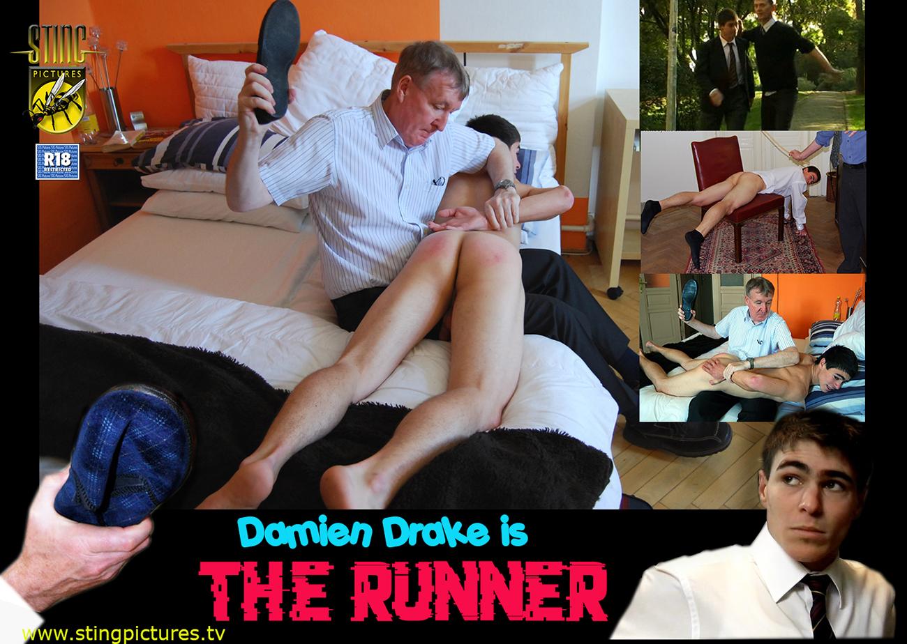 Daddy spanks boy